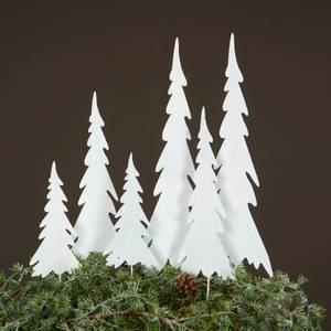 Bilde av Juletre med spyd hvit, 3 varianter