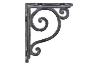 Bilde av Hylleknekt H: 10 cm antikk grå